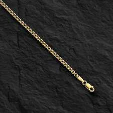 "14kt Gold ROUND Box Link Pendant Chain/Necklace 24"" 1.7mm 4.5 grams RBX100"