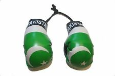 PAKISTAN COUNTRY FLAG MINI BOXING GLOVES .. NEW