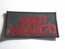 AMON AMARTH DEATH METAL WOVEN PATCH