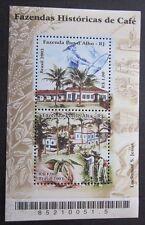 Brasilien 2003 Kaffee Historische Kaffeepflanzungen  Block
