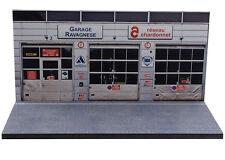 Diorama présentoir Garage Ravagnese Réseau Chardonnet - 1/43ème - #MR43U007