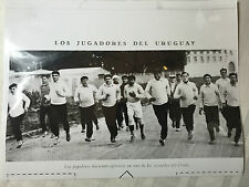 photo press football  Uruguay 1930              507
