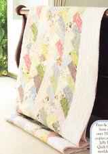 """Friendship Braid - modern pieced quilt PATTERN for 2.5"""" strips"""
