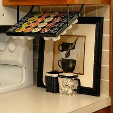 New 24 K-Cups Under Cabinet Rack Cup Coffee Holder Organizer Keurig Pods Storage