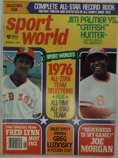 Sport World Magazine Fred Lynn Joe Morgan Pete Rose August 1976 052215R