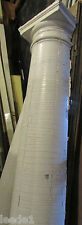 Early 1900 7 Foot + Heavy Wood Tapered Half Column Vintage Architectural Salvage
