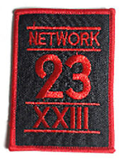 MAX HEADROOM  Network 23  XXIII  -  Patch - Uniform  Aufnäher