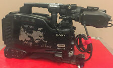 "Sony PDW-F800 XDCAM HD422 2/3"" 3CCD Camera W/ HDVF-C35W LCD Color Viewfinder"