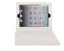TASTIERA WIRELESS BLUETOOTH pieghevole Pelle Custodia Cover per iPad 2 3 4