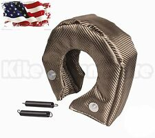 Titanium Turbo Blanket Heat Shield Barrier Turbo Charger Cover T4 GT40 GT42 GT45