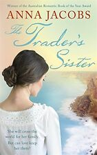 ANNA JACOBS ___ THE TRADER'S SISTER ____ SHOP SOILED ___ UK FREEPOST