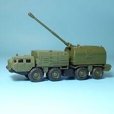 RK Modelle MAZ 543 BEREG-Schiffskanone NVA SU/UdSSR/DDR, H0,1:87,mit Gummireifen