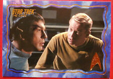 "STAR TREK TOS 50th Anniversary - ""THE CAGE"" - GOLD FOIL Chase Card #52"