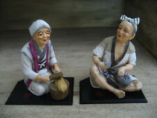 ASIAN Chinese COUPLE Statues Figurines
