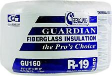 "NEW ROLL OF GU160 R19 HOUSE INSULATION 6-1/2"" x 15"" x 39' 2"" 48.96 SQ FT SALE"