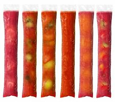 Zip-a-Pop Disposable Quality Popsicle Mold Bags. Zip-Top Ice Pop Bags for Ice or