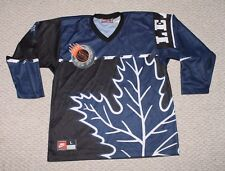 Nike Toronto Maple Leafs NHL Street Hockey Jersey - Mens Large - Vintage 90s