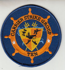 CARRIER STRIKE GROUP TEN STANDARD CHEST PATCH