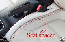 490- 2 Pcs Practical Car Seat Spacer Drop Stop Joint Leather Seat Gap CZR CREAM