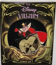 DISNEY CATALOG VILLAIN SERIES QUEEN OF HEARTS ALICE IN WONDERLAND PIN NEW IN BOX
