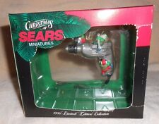 MR. CHRISTMAS 1996 LIMITED EDITION COLLECTION POWER DRILL  CHRISTMAS AT SEARS