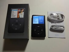 APPLE  IPOD  CLASSIC  6TH GEN.  BLACK  80GB...NEW  HARD DRIVE...