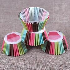 100pcs Paper Cupcake Liner Cake Case Muffin Cup  Baking Bakery
