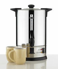 Urn Electric Stainless Steel with Tap Water Boiler Warmer Kettle Heater 6.6L
