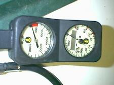 US DIVERS GAUGE CONSOLE WITH BOTTOM TIMER