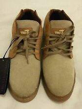 TRU TRUSSARDI Hi Tops Suede leather sneakers Size uk 6.5 eu 40.5