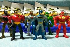 BATMAN UNLIMITED Mighty Mini's (series 1).  Complete Set of 6