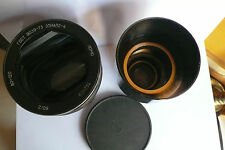 Lomo Russian Anamorphic 80-120 w normal Projection lens fr 35mm Projector.Huge