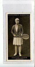 (Jc7403-100)  CHURCHMANS,LAWN TENNIS,FRAULEIN AUSSEM,1928,#3