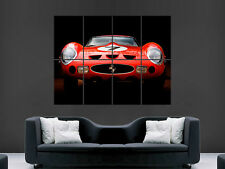 FERRARI CLASSIC CAR GIANT   WALL POSTER  PICTURE PRINT LARGE HUGE