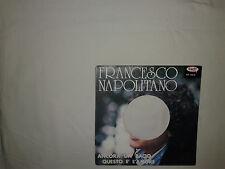 Francesco Napolitano – Ancora Un Bacio-Copertina Forata Per Disco Vinile 45 Giri