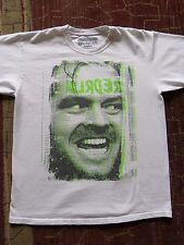 The Shining REDRUM Large Men's Disturbia T-Shirt Jack Nicholson/Here's Johnny
