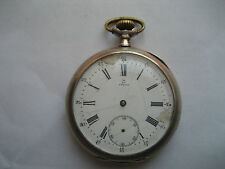 OMEGA pocket watch in silver case notworking