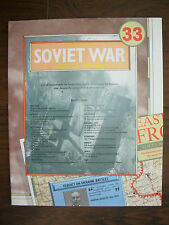 IMAGES OF WAR WWII CAMPAIGN MAP SOVIET WAR EASTERN FRONT JULY 1943 - MAY 1944