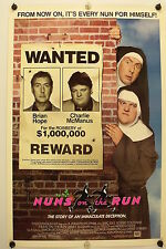 NUNS ON THE RUN - Eric Idle - Original Movie Poster - 1990 Rolled DS C8/C9