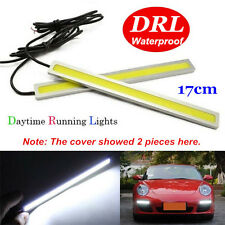 1PC 17CM Super Bright COB Car LED Lights 12V For DRL Fog Driving Lamp Waterproof