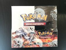 POKEMON TCG nero e bianco (Black/White) BOOSTER BOX, display tedesco, OVP!