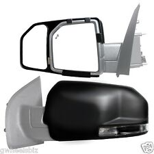 2015-2016 FORD F150  CLIP SNAP-ON & ZAP TOWING SIDE MIRROR EXTENSION (PAIR)