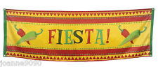 MEXICAN MEXICO CHILLI FIESTA PARTYWARE HANGING DECORATION POSTER FLAG BANNER