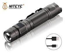New Jetbeam Niteye MS-R25 Cree XP-L 1200 Lumens USB Charge LED Flashlight