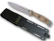 KNIVES OF ALASKA 00844FG DEFENSE SURVIVAL D2 FIXED BLADE KNIFE W/ TAN HANDLE