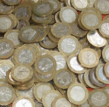France - Bulk lot of 100 Bi-metallic 10 Franc Coins