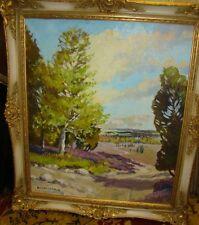 W.H. Jahnke ''Heideweg'' Öl/Leinen   184/13014