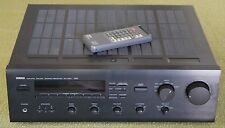 Yamaha RX-550 Natural Sound Stereo Receiver 120 Watt w Remote WORKS