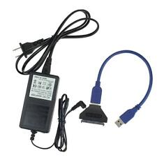 New USB 3.0 To SATA 22Pin Adapter Converter For 2.5 3.5inch Hard Disk Drive OK