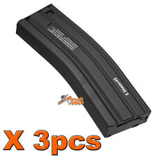 3PCSX M Series Metal Hi-Cap 450rds Magazine for Airsoft Marui G&P Standard AEG